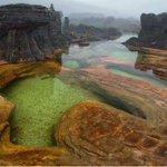 Piscinas naturales en el Tepuy Roraima de la Gran Sabana en Venezuela. http://t.co/kZsG6LoPme