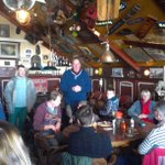 Afsluiting actie schone stranden Den Oever met PvdA lijstrekker Tjeerd Talsma; 400 kg opgeruimd met Staatsbosbeheer. http://t.co/akFIj8LoEc