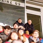 Uli Hoeneß am #Mainzer Bruchweg: #hoeness schaute sich den 2:0-A-Jugend-Sieg seiner #Bayern bei #Mainz05 an! http://t.co/uDmX8KDOhD