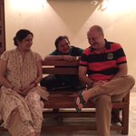 Rehearsal time for #MeraWohMatlabNahiTha with @Neenagupta001 & Rakesh Bedi. Premier shows on 7th & 8th March.:)