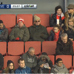 Arsenals Ultras in full voice at The Emirates... ( image via @NutmegRadio) http://t.co/ADdTHhhcHF
