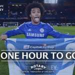 ONE HOUR TO GO! #CFCWembley http://t.co/ZCgXzcYoK1