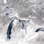 The total Great Lakes ice coverage is at 88.8 percent & were closing in on a record! PHOTOS: http://t.co/76aHIlK0gK http://t.co/lnR4jVJEsU