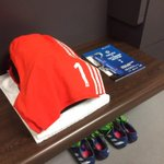 .@PetrCechs spot inside the @ChelseaFC changing room... #CFCWembley http://t.co/lQYyhb9vHZ