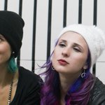 Hear a new song from @pussyrrriot and @letigreworld, via Netflix drama @HouseofCards. http://t.co/73y3LjLhfD http://t.co/REfAGtrok4