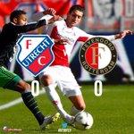 Hoewel er de tweede helft volop kansen waren, werd er bij #fcutrecht - #Feyenoord niet gescoord vandaag: 0-0. #utrfey http://t.co/AlDZYpbjNW