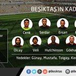 Beşiktaşımızın Balıkesirspor Maçı Kadrosu Belli Oldu #BaşarılarBeşiktaşım http://t.co/dZ6EZeiZjS