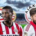Over vijf minuten begint de prestigestrijd in Eindhoven: PSV-Ajax. Volg ons liveblog: http://t.co/45KwwnXYuZ #psvaja http://t.co/4HhCoys20Q
