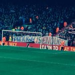 Man City and Liverpool fans unite with this banner regarding the price of tickets. #MCFC #LFC http://t.co/Xxen7aFePG
