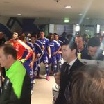 PHOTO: The players are in the tunnel! #CapitalOneCupFinal http://t.co/HydfBgcJMu
