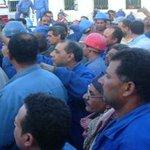 عمال بترو تريد يطالبون بإقالة رئيس الشركه العمال فترة السيسي الاشد قمعاّ #السيسي_نكبة_مصر http://t.co/hl3llGVXpA