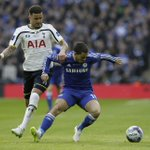 .@hazardeden10 in action at Wembley... #CFCWembley http://t.co/TbHOQZgR3c