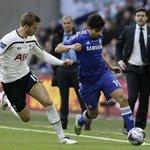 Half-time: Chelsea 1-0 Tottenham. #CFCWembley #CapitalOneCupFinal http://t.co/jPwybumkjR