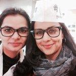 RT @SwatySMalik: मैं और मेरी दोस्त in our respective Avatars! @GulPanag