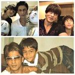 #Bollywood #Flashback - @iamsrk with his eldest son Aryan.