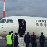 Presidente #Correa arribó a Ecuador luego de cumplir actividades en #Uruguay http://t.co/9Ni6WR8R0X