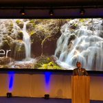 RT @nokianetworks: Rajeev Suri gives 'water' as one of the examples for the programmable world. #MWC15 http://t.co/c83yPU3dBg