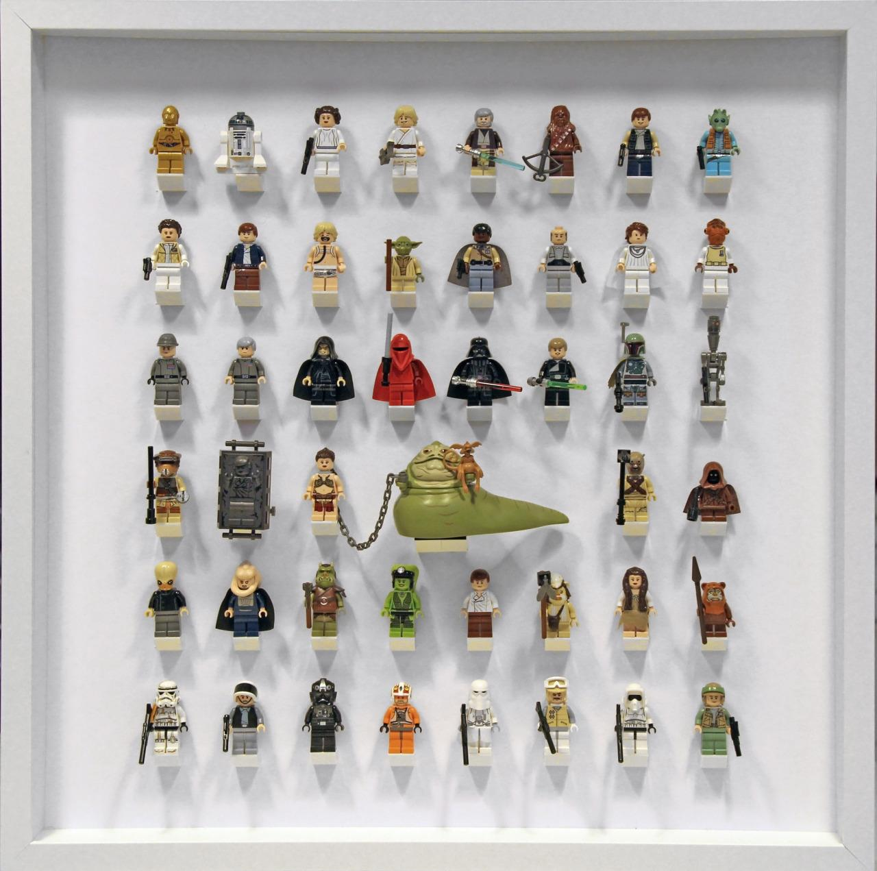 Star Wars Original Trilogy Minifigure par Brent Waller #LEGO #starwars http://t.co/jAL2FSOIP1