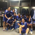 Celebrations inside the @ChelseaFC changing room! #WembleyIsBlue http://t.co/RmwPVKwNKk