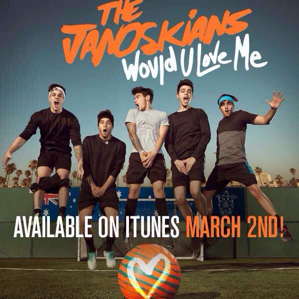 "hope everyone supports the boys EP release.Tomorrow ""Would u love me"" - on iTunes.They worked really hard"