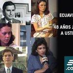 """48 años @ecuavisa! Sin pretender ser perfectos, informamos,divertimos con ética y responsabilidad.Seguimos adelante! http://t.co/22crpau7aO"""""""