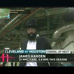 James Harden wears a pilgrim hat to Rockets' game against Cavs http://t.co/CjmO1WU5Sa http://t.co/V41F4glCDx