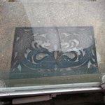 My doormat completely encased in ice at 2:50 pm. #Alexandria #nova @capitalweather @dougkammerer http://t.co/8ExiPMdaVF