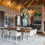 Design Detail: A Wine Wall Space Divider http://t.co/HeBl2EccCJ #wine #interiordesign #design http://t.co/cElGIJ9C5R