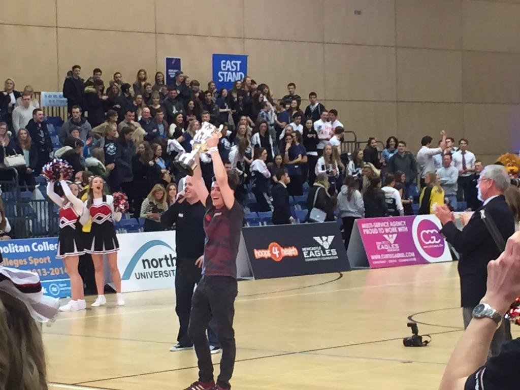 After a tight last match live at Sport Central, @TeamNorthumbria lift the #StanCalvert cup for the 2nd year http://t.co/drZBGAgemm