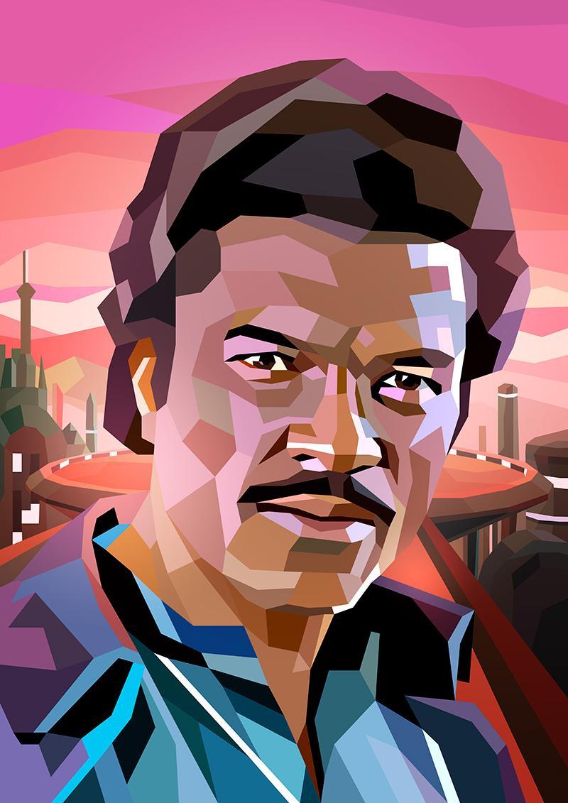Attempting a #StarWars portrait every week until #TheForceAwakens. #11 Lando Calrissian @realbdw http://t.co/uipE9k3A5z