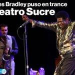 . @Charles_Bradley puso en trance a un Teatro Sucre repleto. Así fue su concierto en #Quito » http://t.co/B3e4iR5VeG http://t.co/I6NtHGDMRc