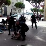 Dramatic video captures LAPD shooting of homeless man http://t.co/NeQ5aWiJwV http://t.co/3AIlYg47NE