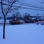 A pair of PennDOT plows treating Linglestown Road in Dauphin County. @CBS21NEWS #StormWatch http://t.co/FCfVN6P2yW
