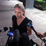 Ed Min @katejonesqld cranky that Feds didnt tell her about plans for security guards at schools. @abcnews http://t.co/SxJOnPTbeC