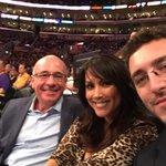 .@Lakers game selfie with @LeeannTweeden & @coachdavemiller. http://t.co/sxDbPEScD0