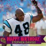 Happy Birthday to 3-time Pro Bowler Stephen Davis! #NFLBirthdays http://t.co/jRSU3hBg7i