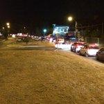 Imagen de calle Los Lingues en Isla Teja de Valdivia gracias a la negligencia de Dir Nac Vialidad por Puente Cau Cau http://t.co/mHZTq14Ljx