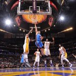 Ibaka/Kanter/Augustin/Collison all score in double-figures. Thunder builds 84-72 lead on Lakers headed to 4th http://t.co/PtCLjvqXZA