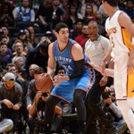 Enes Kanter in win over Lakers: 16 points, 15 rebounds, career-high 5 assists. #OKCvsLAL http://t.co/4Tr2H9YTfw