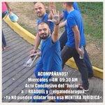 """¡POR FAVOR DIFUNDAN Y ASISTAN ! #4M 10:30AM Conclusión de """"Juicio"""" a @RBADUEL y @elgatodearagua http://t.co/bqw9G7VXRM"""