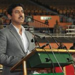 MoS I&B Shri. @Ra_THORe at inaugural ceremony of 63rd All India Police Wrestling Cluster 2014-15, hosted by the ITBP http://t.co/OhS3zy12HI