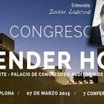 En Portada: Entrevista @ilazcoz / Congreso VENDER HOY, Baluarte, Iruña-Pamplona, 7 de Marzo http://t.co/Q27NEhL88H http://t.co/b81UzVXoG4