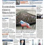 Il centrodestra si spacca. Rissa su Salvini. La prima pagina di Repubblica di oggi http://t.co/rOApQPep7E