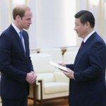 Príncipe Guillermo de #Inglaterra se reunió con presidente de #China http://t.co/HDQtWWaEge (foto: AFP) http://t.co/76a54rLrrT