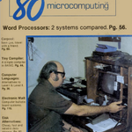 80 Microcomputing covers captured all the scintillating excitement, glamour, and derring-do of being a TRS-80 user.