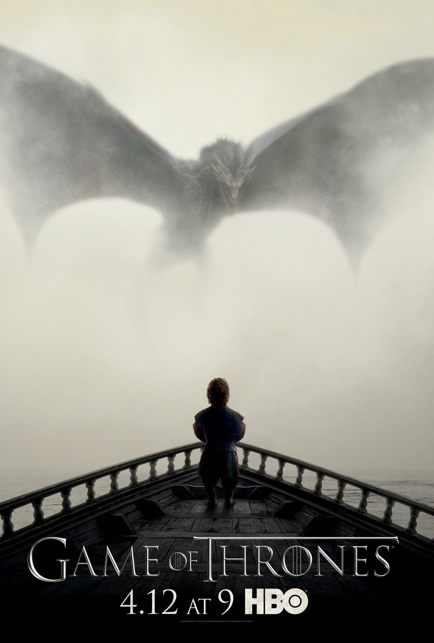 "Постер пятого сезона ""Игры престолов"". http://t.co/AE9OJj48e3"