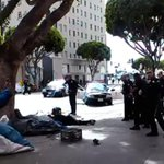 Disturbing Video Shows LAPD Officers Fatally Shooting Man On Skid Row http://t.co/xifO3VHwvv http://t.co/sUYIt5wQAH