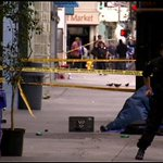 Video purportedly captures Los Angeles police officers shooting homeless man http://t.co/NH30ovvqb9 http://t.co/slUuyJFAdl