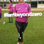 @reneengamau @CapitalFM_kenya @984inthemorning #iambeyondzero #runwiththefirstlady 8th March 2015. http://t.co/m1uk2Hj1yt