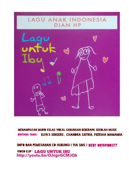 Link Video Klip Lagu Untuk Ibu http://t.co/oumXlOA6qy CD sudah bisa dipesan. http://t.co/DRNXrNnoKi